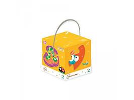 Пазл DoDo 2-3-4 елемента Насекомые 300253, детская игрушка, подарок для ребенка