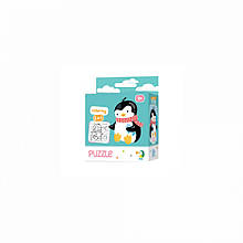 Пазл DoDo 2в1 Пингвин 300122, детская игрушка, подарок для ребенка