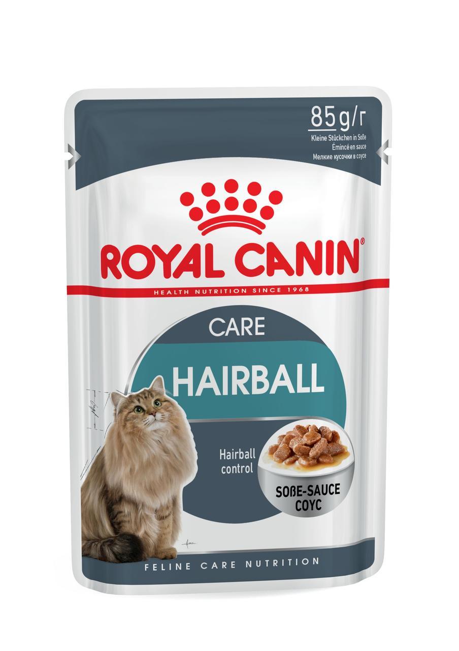 Влажный корм Royal Canin Hairball Care для кошек, 0,085КГ 12шт