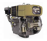 Двигатель дизельный Кентавр ДД195ВЭ с водяным охлаждением (12 л.с.) для мотоблоков с электростартером