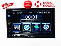 """Автомагнитола 2Din Pioneer 7023CRBG 7"""" IPS 1024*600 GPS, Bluetooth, +Рамка+Шахта НОВИНКА 2019"""