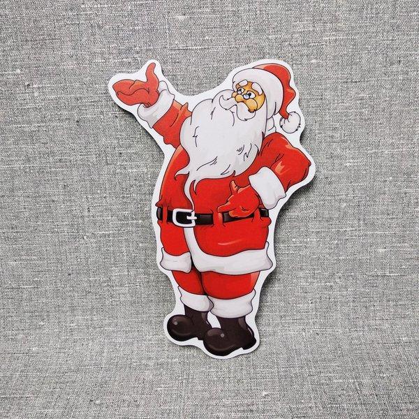 Новорічна настінна декорація Санта Клаус