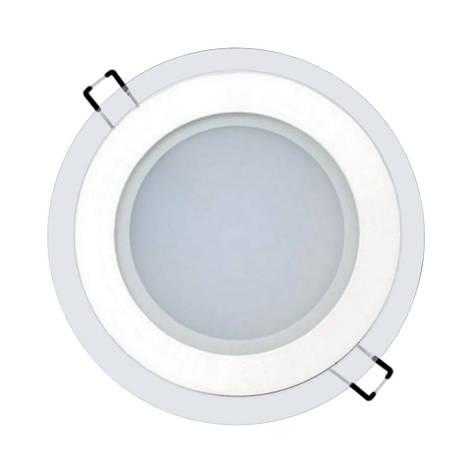 Светильник светодиодный встраиваемый LEDEX 6Вт 3000K 480lm круг стекло (102957), фото 2