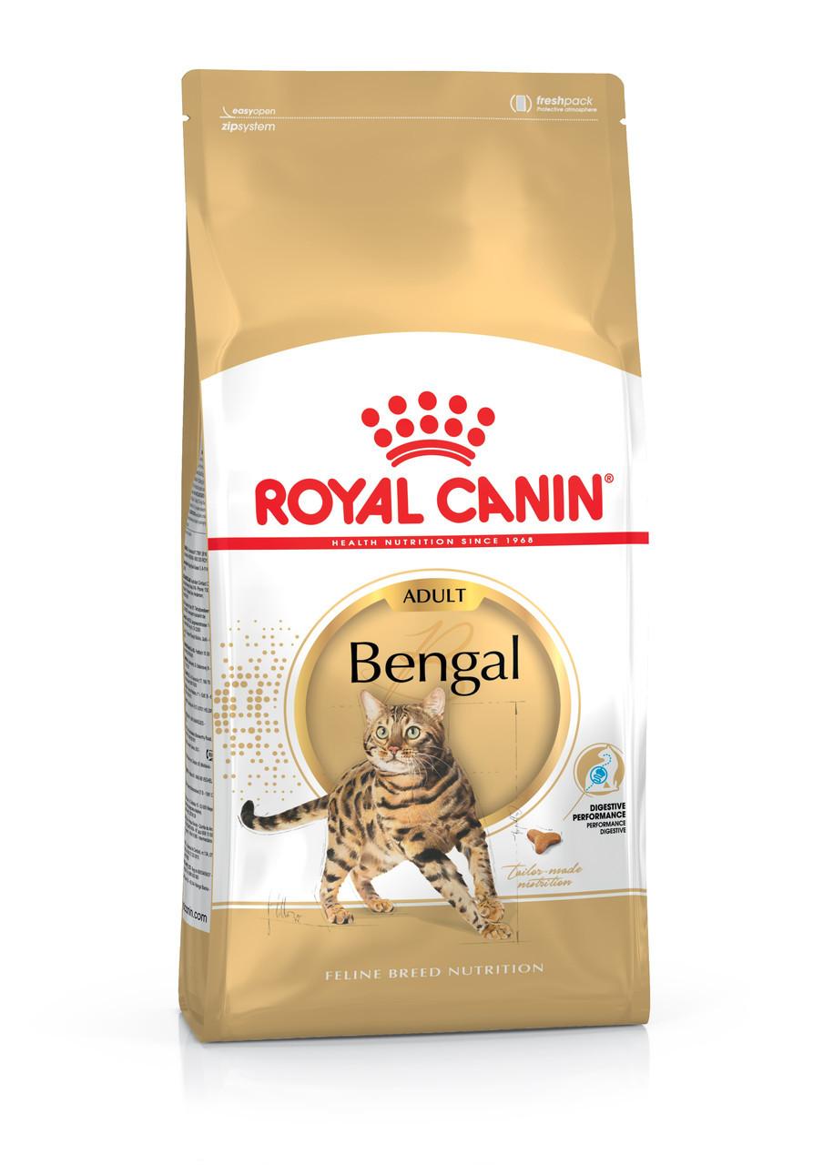 Сухой корм Royal Canin Bengal Adult для взрослых бенгальских кошек 2 кг