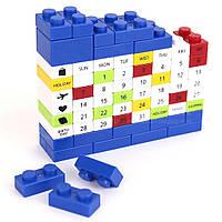 "Календар ""LEGO"", синій, Календарь ""Конструктор Лего"""