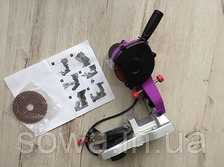 ✔️ Станок для заточки цепей AL FA CSG001   |  950W, фото 2