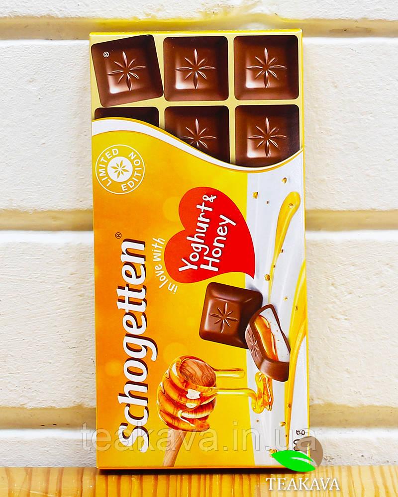 Шоколад Schogetten Yoghurt & Honey