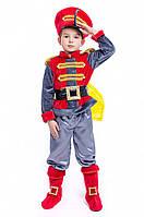 Детский карнавальный костюм для мальчика «Комарик-гусарик» 110-125 см, серый, фото 1