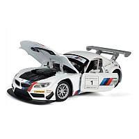 Машинка металлическая Автопром BMW свет,звук
