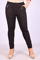 Женские теплые брюки с начёсом Золото A957-2-1 5XL Размер 46-50