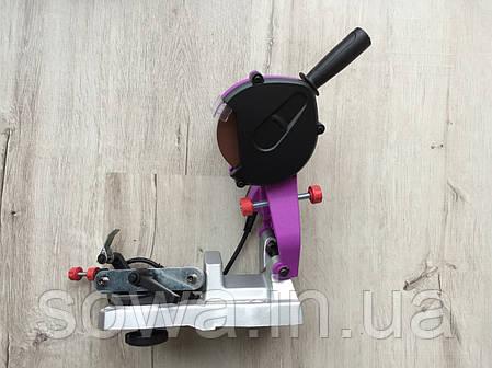 ✔️ Верстат для заточування ланцюгів AL FA CSG001 ( 950Вт, Підсвічування робочої області ), фото 2