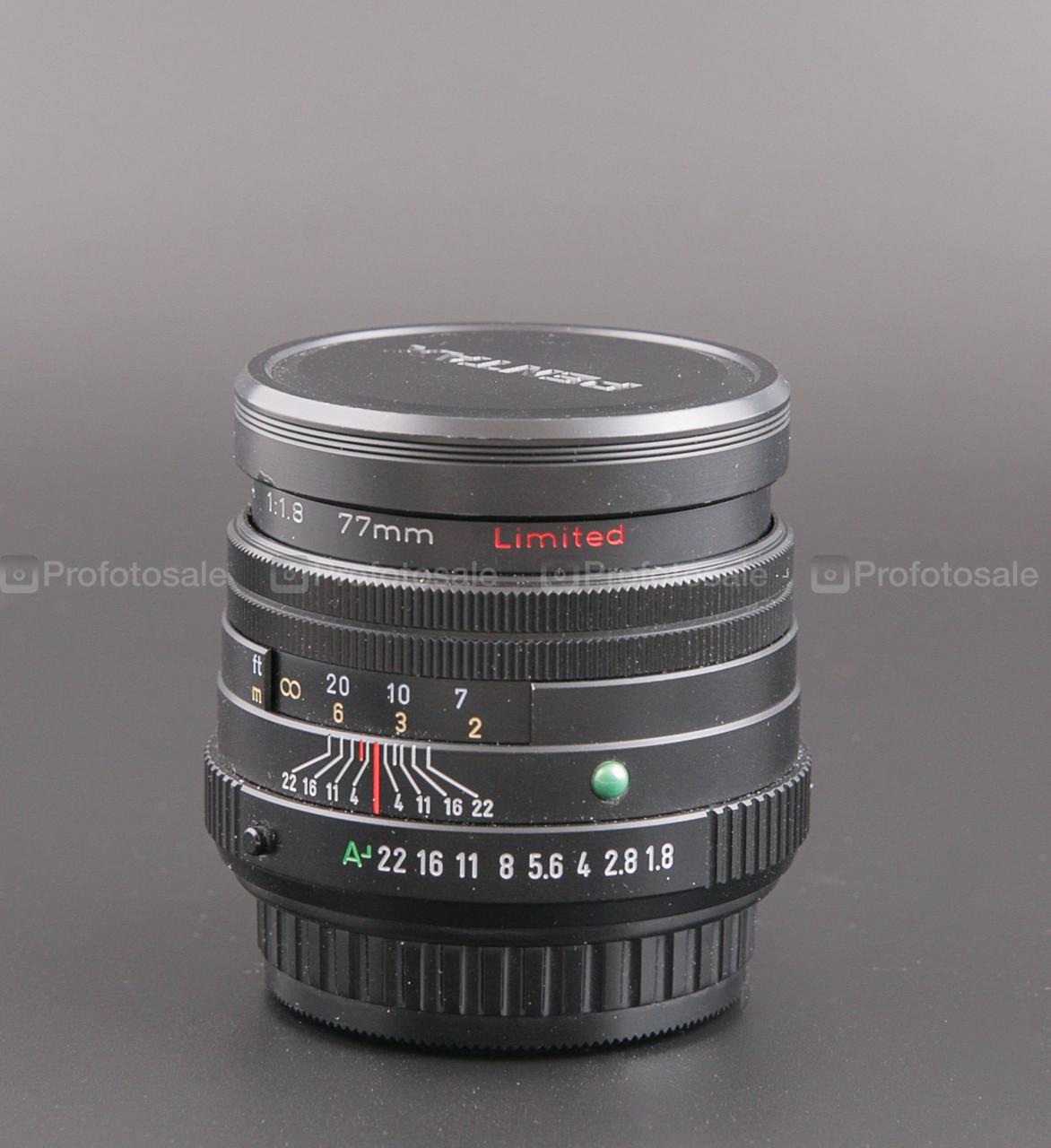 Pentax SMC FA77mm F1.8 Limited