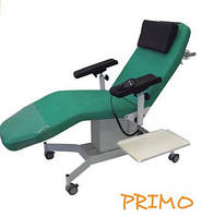 Стаціонарне донорське крісло PRIMO електро версія