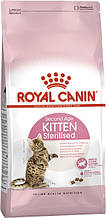 Сухой корм для кастрированных и стерилизованных котят Royal Canin Kitten Sterilised 400 г