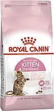 Сухой корм для кастрированных и стерилизованных котят Royal Canin Kitten Sterilised 2 кг