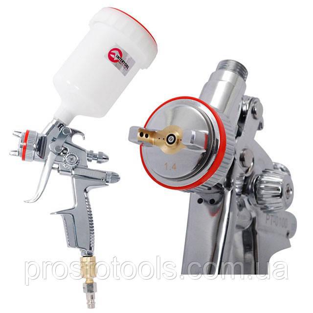 Краскопульт пневматический HVLP-II  1.4мм Intertool PT-0100