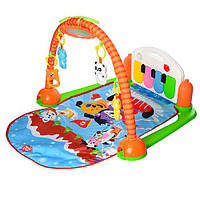 Игровой развивающий коврик для детей HX9127-28-29A музыкальный с пианино