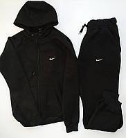 Теплый спортивный костюм с капюшоном на змейке (флис) Nike