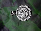 Серебряная иконка с образом Св. Николая, фото 3