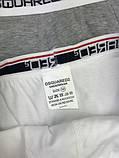 Подарочный набор мужских трусов Dsquared M XL хлопковые боксеры мужские трусы для мужчин Дискваред реплика, фото 2