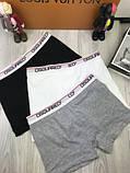 Подарочный набор мужских трусов Dsquared M XL хлопковые боксеры мужские трусы для мужчин Дискваред реплика, фото 4