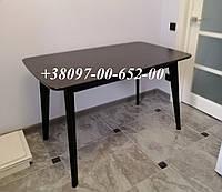 Стол кухонный Венге раскладной  Модерн 120(160)х75 СО-293.3 БУК+МДФ