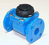Счетчик холодной воды турбинный фланцевый Ду100 Powogaz MWN-50-100, фото 3