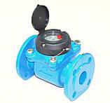 Счетчик холодной воды турбинный фланцевый Ду100 Powogaz MWN-50-100, фото 4