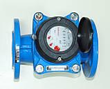 Счетчик холодной воды турбинный фланцевый Ду100 Powogaz MWN-50-100, фото 5