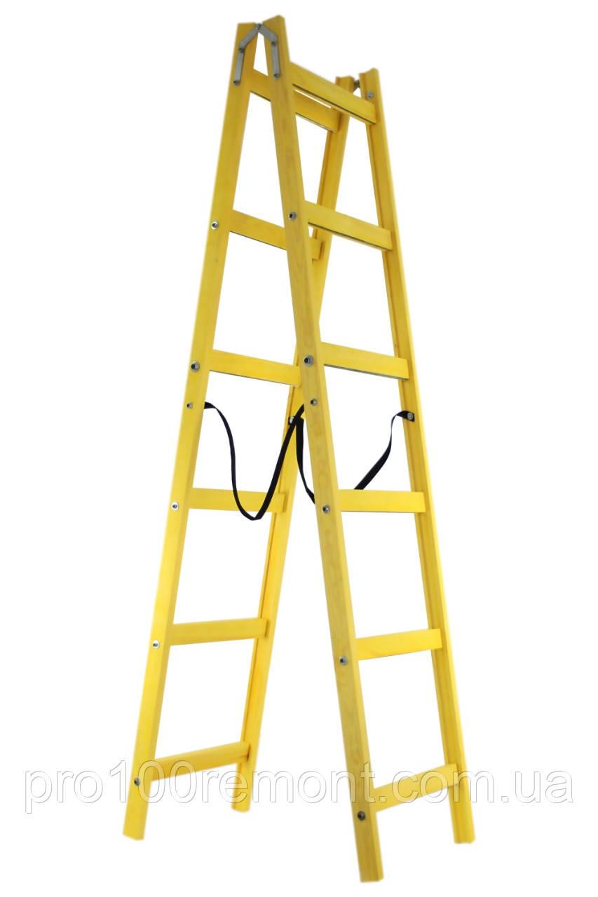 Профессиональная стремянка-ходуля на 6 ступеней