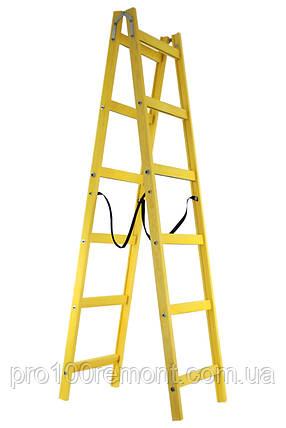 Профессиональная стремянка-ходуля на 6 ступеней, фото 2