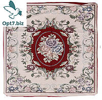 Декоративная наволочка с вышивкой из гобелена 60х60 , фото 1