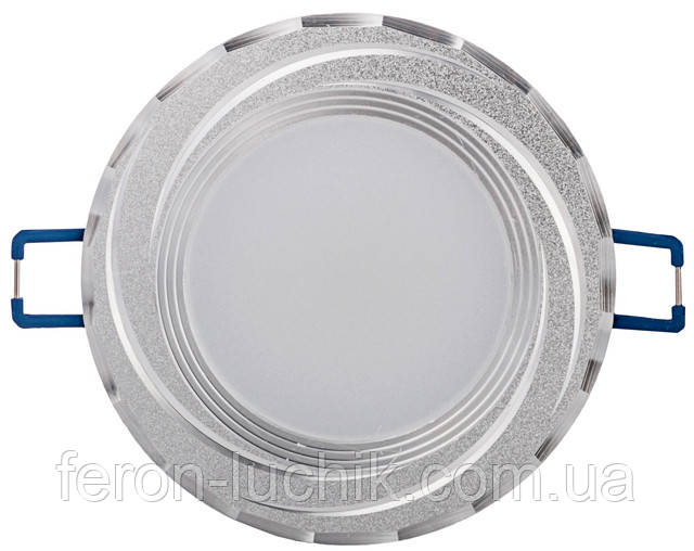 Красивый светодиодный светильник от ТМ Feron, модель AL777 5w (серебро)