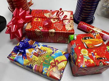 Упаковка подарков детям на день рождение