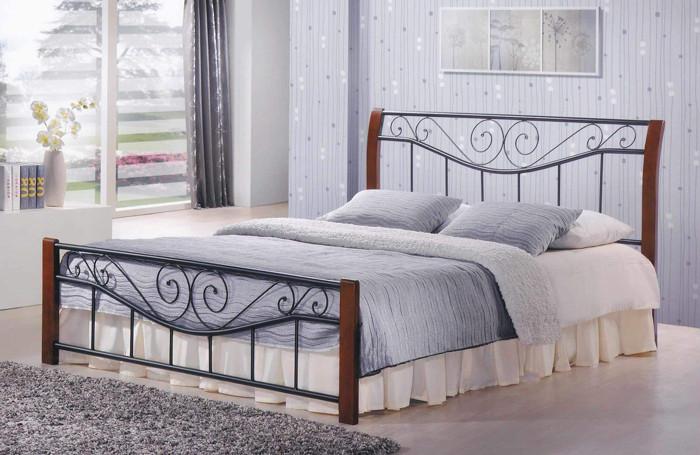 Кровать Ленора 1600*2000 М (каштан)