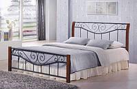 Кровать Ленора М Каштан (180х200)  (Domini TM)