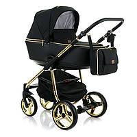 Универсальная коляска 2 в 1 Adamex Reggio Limited Chrom