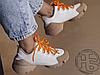 Женские кроссовки Dior D-Connect Sneaker in Neoprene White Brown KCK222NRL_S21W, фото 4