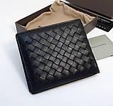 Кошелек мужской Bottega Veneta H0177 черный, фото 2