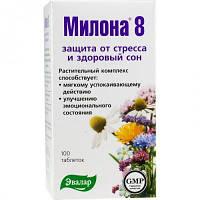 Милона -  8 (Эвалар) – травяные таблетки для спокойствия и хорошего сна