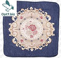 Декоративная наволочка с вышивкой из гобелена 60х60 см  !