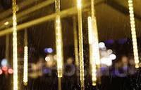 Гирлянда уличная Метеоритный дождь «Тающие Сосульки» Светодиодная белый теплый