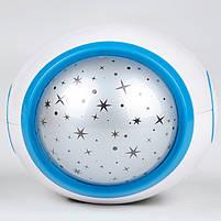 Годинник - проектор, Ночник - проектор звездного ночного неба, фото 3