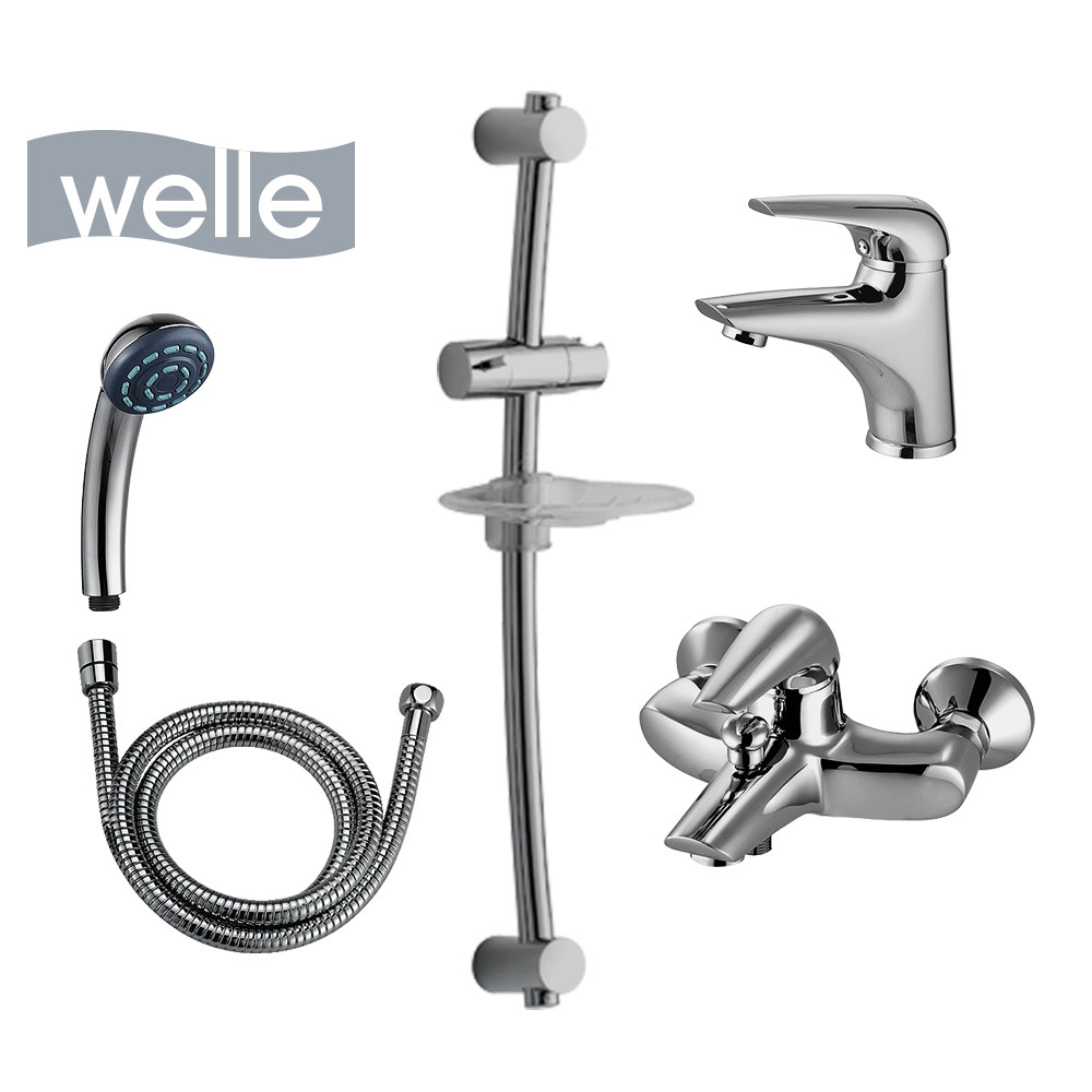 Набір змішувачів для ванної Welle, Lukas