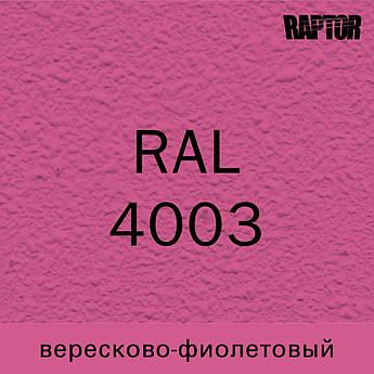 Пигмент для колеровки покрытия RAPTOR™ Вересково-фиолетовый (RAL 4003)