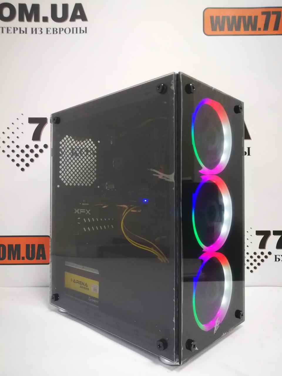 Игровой компьютер Intel Core i5-4570 (4 ядра), RAM 8ГБ, SSD 120ГБ, 500ГБ HDD, RX 580 8GB, 6 мес. гарантии, фото 1