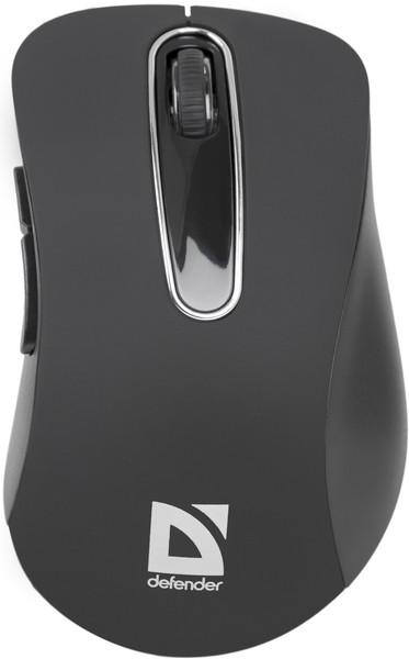 Мышь DEFENDER (52075)Datum MM-075 Wireless Черная
