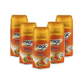 Освіжувач повітря автоматичний Magic Air Citrus mix 250 мл Цитрусовий мікс 15 шт / ящ