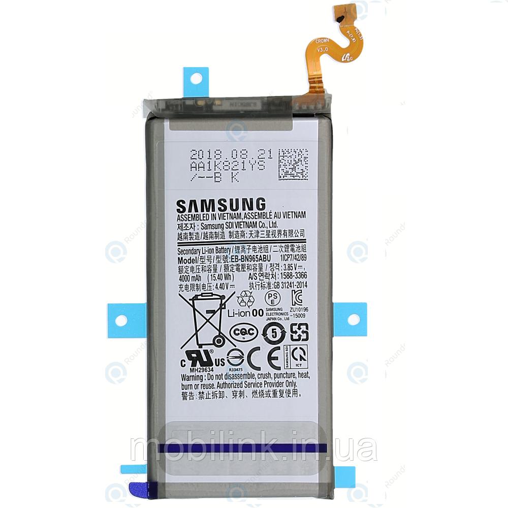 Оригинальный аккумулятор для Samsung N960 Galaxy Note 9,GH82-17562A!