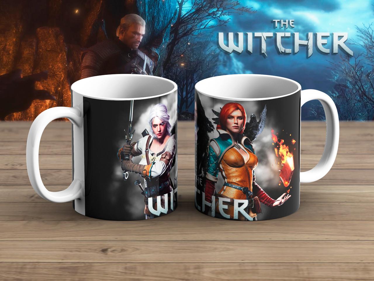 Чашка Девушки Ведьмак / Тhe Witcher